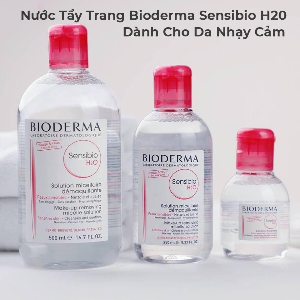 Nước Tẩy Trang Bioderma Sensibio H20 Dành Cho Da Nhạy Cảm 500ml-6