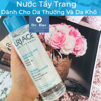 Nước Tẩy Trang Uriage Thermal Micellar Water Dành Cho Da Thường Và Da Khô 250ml5a