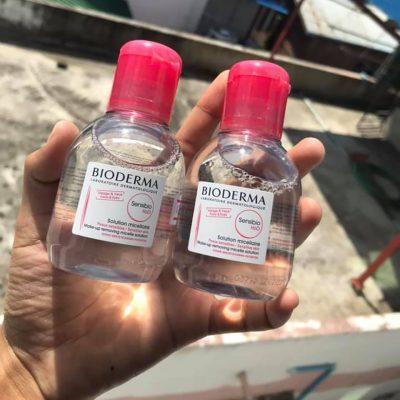 Nước hoa hồng Toner Bioderma Sensibio Tonique dành cho da nhạy cảm và da mụn 100ml-5