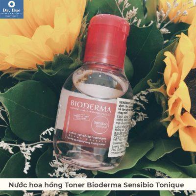Nước hoa hồng Toner Bioderma Sensibio Tonique dành cho da nhạy cảm và da mụn 100ml-7
