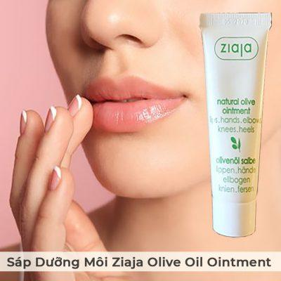 Sáp Dưỡng Môi Ziaja Olive Oil Ointment Dành Cho Môi Khô Nứt Nẻ-8