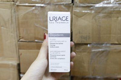 Sữa Dưỡng Ẩm Ngăn Ngừa và Giảm Nám Đốm Nâu Uriage FLUIDE ANTI TACHES SPF15 30ml