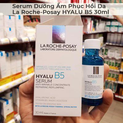 Serum Dưỡng Ẩm Phục Hồi Da La Roche-Posay HYALU B5 30ml-10
