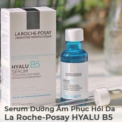 Serum Dưỡng Ẩm Phục Hồi Da La Roche-Posay HYALU B5 30ml-4