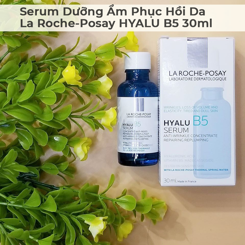 Serum Dưỡng Ẩm Phục Hồi Da La Roche-Posay HYALU B5 30ml-9