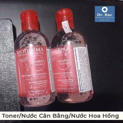 Toner cho da nhạy vảm và da mụn Bioderma Sensibio Tonique 250ml-2