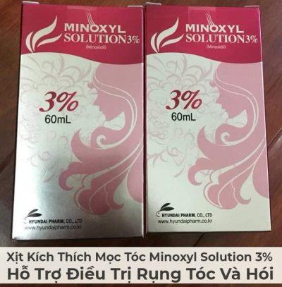 Xịt Kích Thích Mọc Tóc Minoxyl Solution 3% Hỗ Trợ Điều Trị Rụng Tóc Và Hói-2