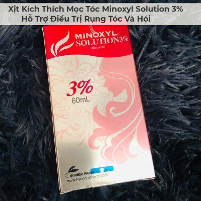 Xịt Kích Thích Mọc Tóc Minoxyl Solution 3% Hỗ Trợ Điều Trị Rụng Tóc Và Hói-3