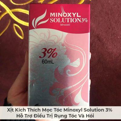 Xịt Kích Thích Mọc Tóc Minoxyl Solution 3% Hỗ Trợ Điều Trị Rụng Tóc Và Hói-6