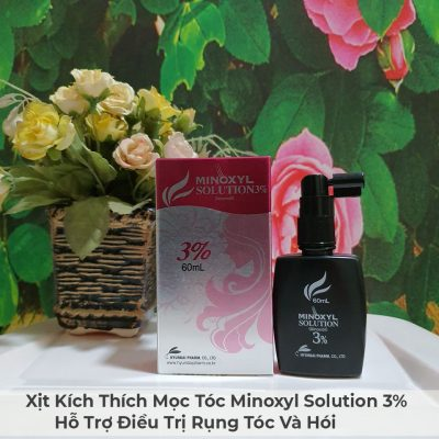 Xịt Kích Thích Mọc Tóc Minoxyl Solution 3% Hỗ Trợ Điều Trị Rụng Tóc Và Hói-9