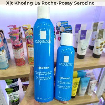 Xịt Khoáng Giúp Làm Sạch Và Dịu Da La Roche-Posay Serozinc 300ml-1