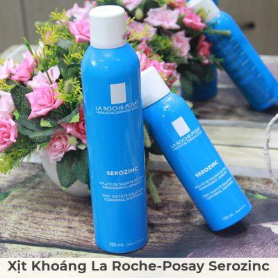 Xịt Khoáng Giúp Làm Sạch Và Dịu Da La Roche-Posay Serozinc 300ml-6