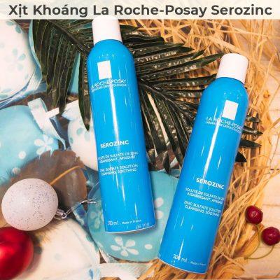 Xịt Khoáng Giúp Làm Sạch Và Dịu Da La Roche-Posay Serozinc 300ml-7