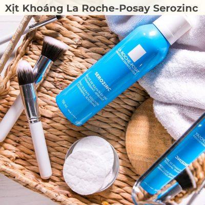 Xịt Khoáng La Roche-Posay Serozinc Giúp Làm Sạch Và Dịu Da 150ml-1