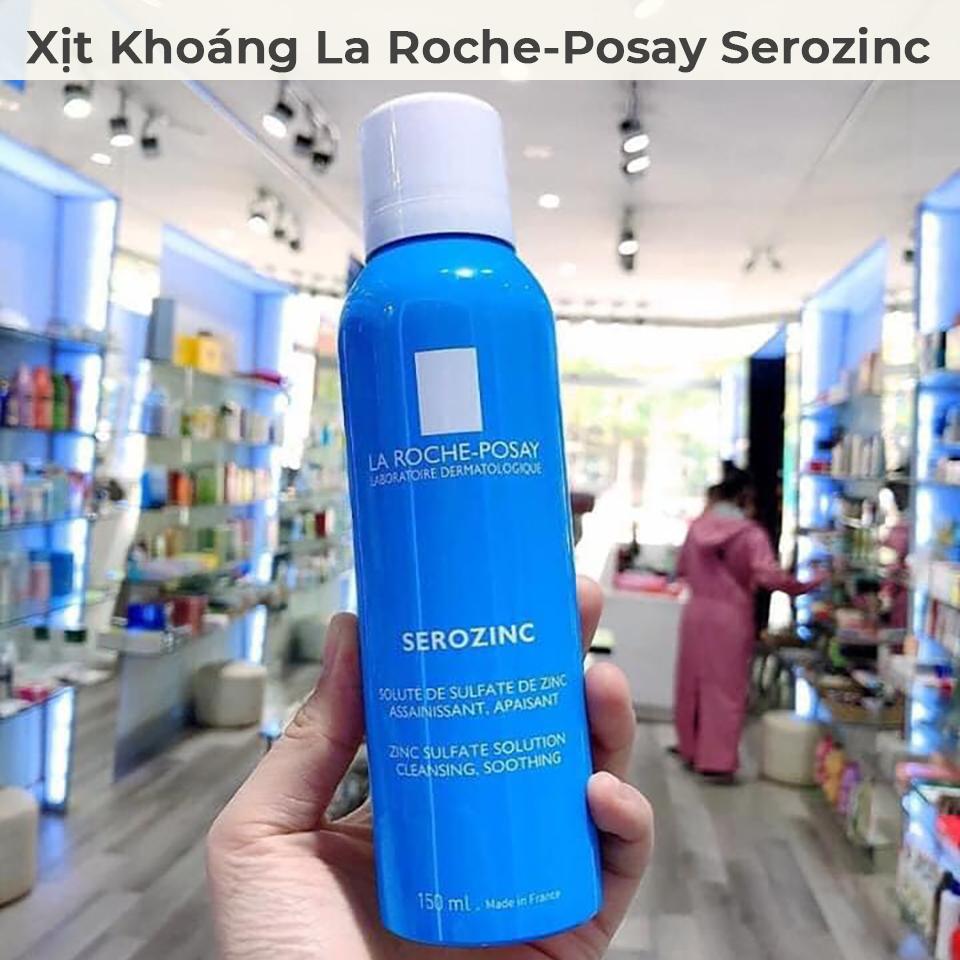Xịt Khoáng La Roche-Posay Serozinc Giúp Làm Sạch Và Dịu Da 150ml-5