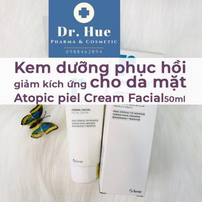 Kem dưỡng phục hồi da dị ứng Repavar Atopic Piel Facial Cream 50ml