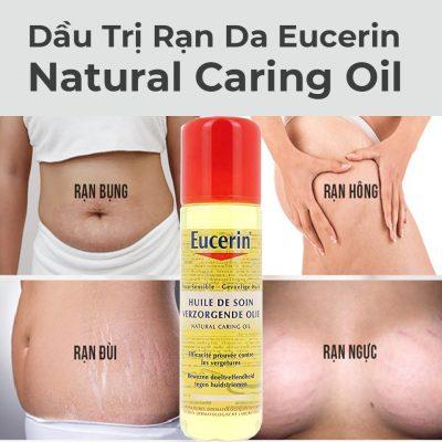 Dầu Trị Rạn Da Eucerin Natural Caring Oil 125ml-1