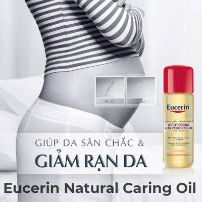 Dầu Trị Rạn Da Eucerin Natural Caring Oil 125ml-2