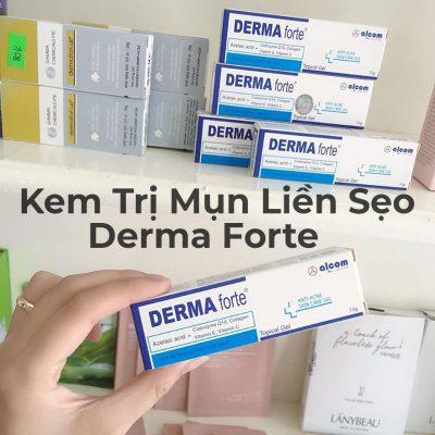 Kem Trị Mụn Liền Sẹo Derma Forte 15g-3