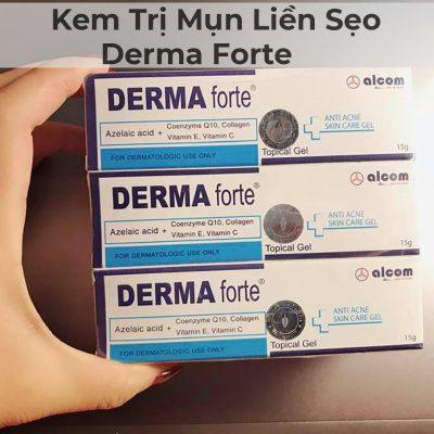 Kem Trị Mụn Liền Sẹo Derma Forte 15g-4