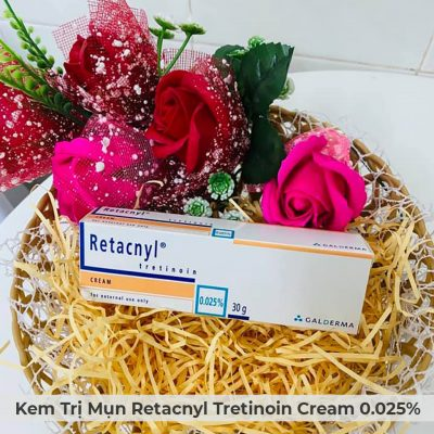 Kem Trị Mụn Retacnyl Tretinoin Cream 0.025% Galderma 30g-3