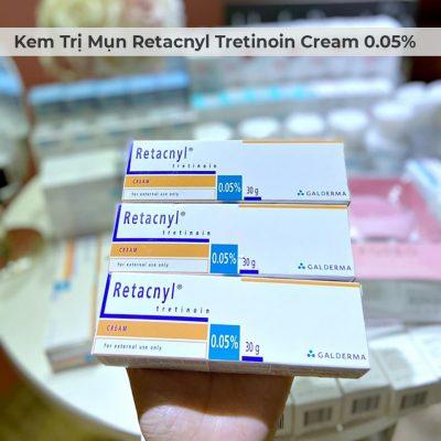 Kem Trị Mụn Retacnyl Tretinoin Cream 0.05% Galderma 30g-5
