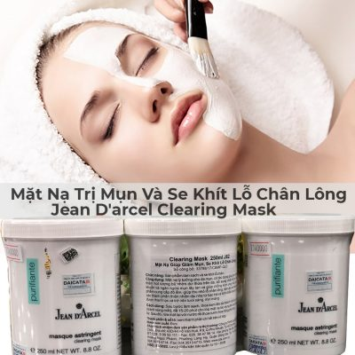 Mặt Nạ Trị Mụn Và Se Khít Lỗ Chân Lông Jean D'arcel Clearing Mask 250ml-1