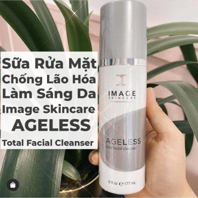 Sữa Rửa Mặt Chống Lão Hóa Làm Sáng Da Image Skincare Ageless Total Facial Cleanser -1