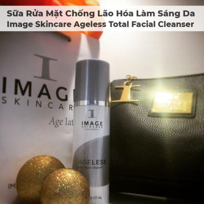 Sữa Rửa Mặt Chống Lão Hóa Làm Sáng Da Image Skincare Ageless Total Facial Cleanser - 10