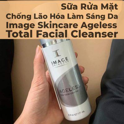 Sữa Rửa Mặt Chống Lão Hóa Làm Sáng Da Image Skincare Ageless Total Facial Cleanser - 3