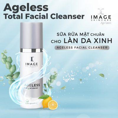 Sữa Rửa Mặt Chống Lão Hóa Làm Sáng Da Image Skincare Ageless Total Facial Cleanser - 4