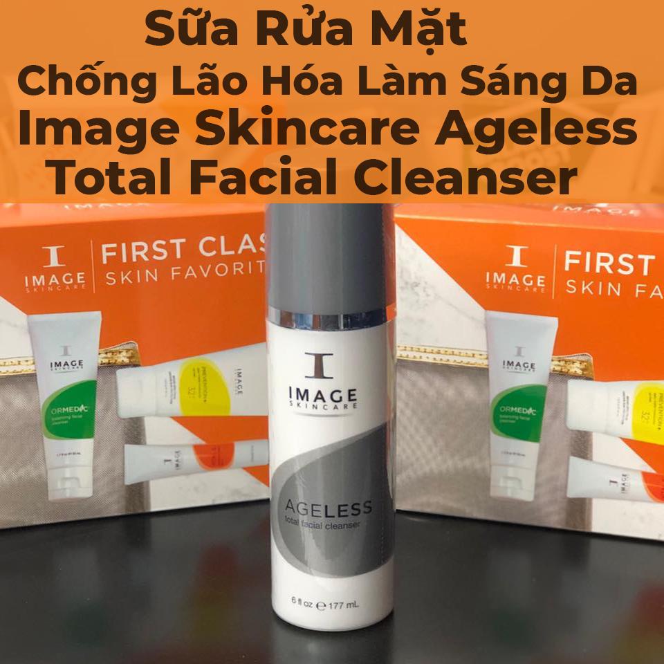 Sữa Rửa Mặt Chống Lão Hóa Làm Sáng Da Image Skincare Ageless Total Facial Cleanser - 7