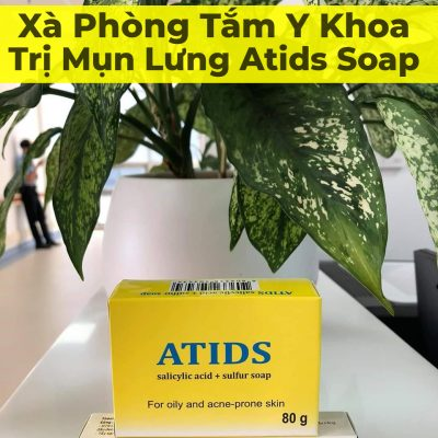 Xà Phòng Tắm Y Khoa Trị Mụn Lưng Atids Soap-2