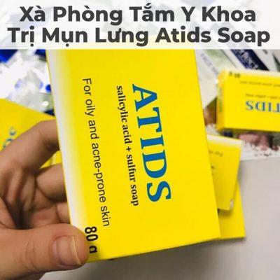 Xà Phòng Tắm Y Khoa Trị Mụn Lưng Atids Soap-5