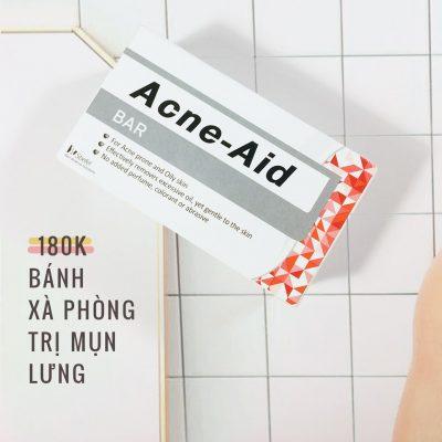 Xà Phòng Tắm Trị Mụn Lưng Acne-Aid Bar-1
