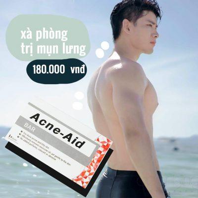 Xà Phòng Tắm Trị Mụn Lưng Acne-Aid Bar-2