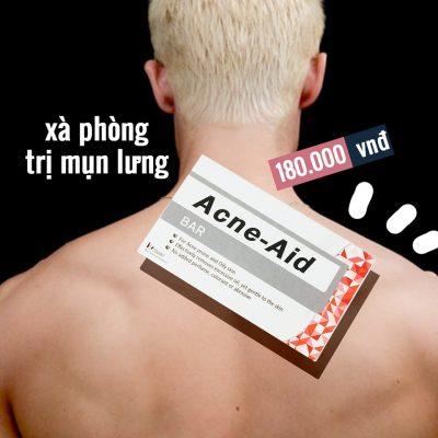 Xà Phòng Tắm Trị Mụn Lưng Acne-Aid Bar-3