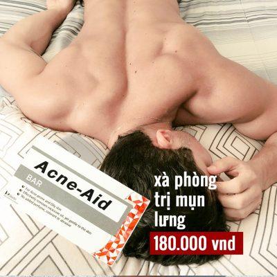 Xà Phòng Tắm Trị Mụn Lưng Acne-Aid Bar-4