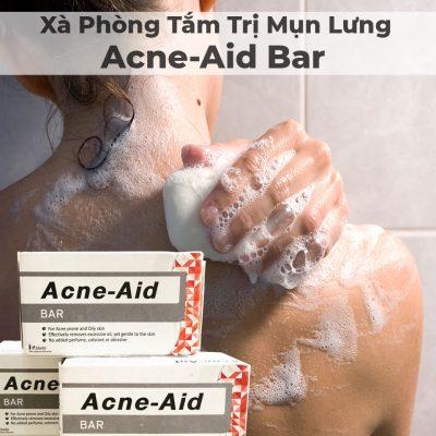 Xà Phòng Tắm Trị Mụn Lưng Acne-Aid Bar