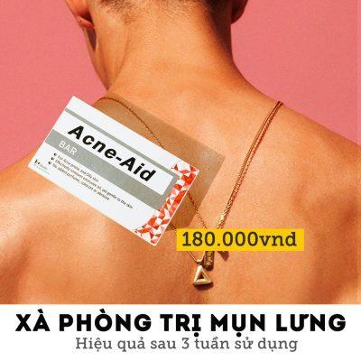 Xà Phòng Tắm Trị Mụn Lưng Acne-Aid Bar-5
