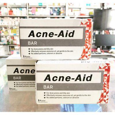 Xà Phòng Tắm Trị Mụn Lưng Acne-Aid Bar-7
