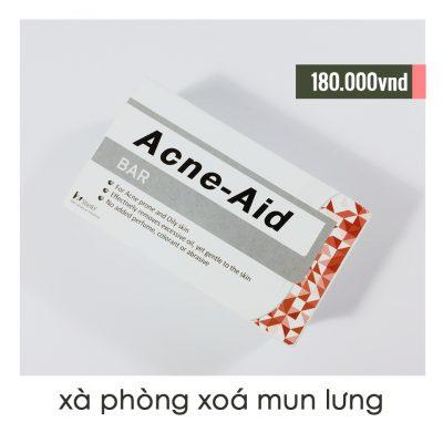 Xà Phòng Tắm Trị Mụn Lưng Acne-Aid Bar-9