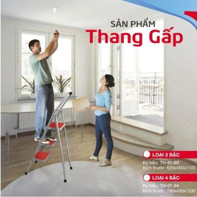 Thang Gấp Xuân Hòa 4 Bậc TH-01-04-1