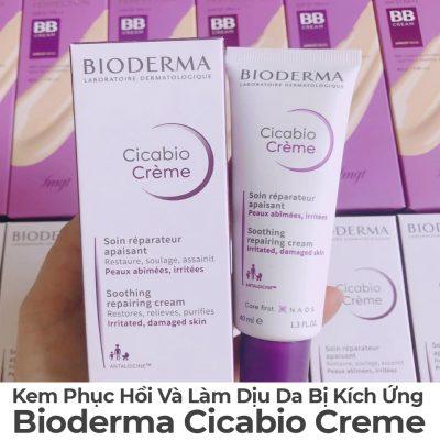 Kem Phục Hồi Và Làm Dịu Da Bị Kích Ứng Bioderma Cicabio Cream-11
