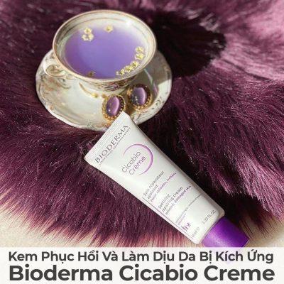 Kem Phục Hồi Và Làm Dịu Da Bị Kích Ứng Bioderma Cicabio Cream-16