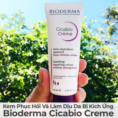 Kem Phục Hồi Và Làm Dịu Da Bị Kích Ứng Bioderma Cicabio Cream-18