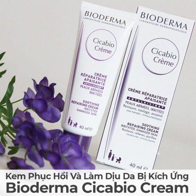 Kem Phục Hồi Và Làm Dịu Da Bị Kích Ứng Bioderma Cicabio Cream-2