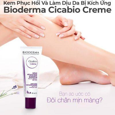Kem Phục Hồi Và Làm Dịu Da Bị Kích Ứng Bioderma Cicabio Cream-21