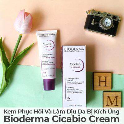 Kem Phục Hồi Và Làm Dịu Da Bị Kích Ứng Bioderma Cicabio Cream-8