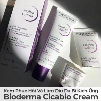 Kem Phục Hồi Và Làm Dịu Da Bị Kích Ứng Bioderma Cicabio Cream-9